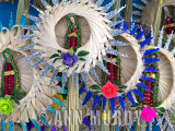 Our Lady of Guadalupe palm weavings