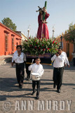 Morning procession with Cristo