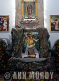 Altar with the resurrected Christ