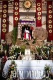 Altar with El Señor de la Resurectión