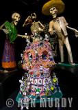 Calaveras at El Museo del Arte Popular