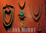 Gold jewelry from Oaxaca