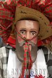 Masked dancer from Pamatácuaro