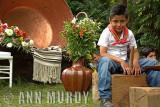 Little boy from Santa Clara de Cobre