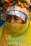 Woman with veil from Santa Fe de Laguna