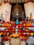 Altar at the Secretary of Tourism in Puebla