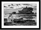 Pre-wedding shot at Tanah Lot