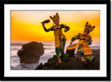 Legong dance until past sunset