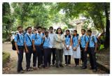 @With Devamatha School students ,Thrissur