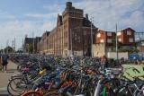 A sea of bikes
