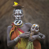 Surma Mother and Child