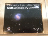 Astronomical Society of the Pacific 125th Anniversary Calendar