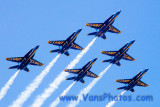 Blue Angels Flying Team by U.S. Navy at Annapolis, MD