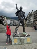 Freddy Mercury in Montreaux