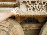 Stone chariot, Hampi, India