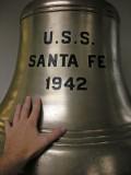 USS Santa Fe bell