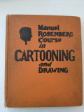 Manuel Rosenberg Course in Cartooning and Drawing (1927) (inscribed with original self-portrait)