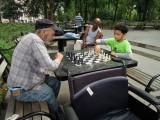 First Washington Square chess game