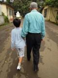With Nanu at India Tube Mills