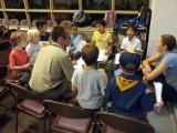 First cub scout den meeting