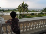View of the city from Falaknuma Palace