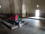 Tomb of Haiat Bakshy Beghum, wife of Sultan Mahomed Kutub Shah, the fifth Qutb king