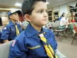 At long last:  the cub scout uniform!