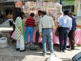 Buying fireworks for Diwali