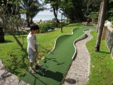 Le Meridien miniature golf course No. 4