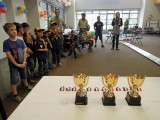 Pinewood derby ceremony