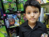 Visit to a toy store