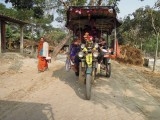 Autorickshaw in Sunderbans village