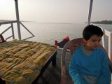 Aboard the boat
