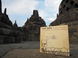 Bull Tales visits Borobudur, Java (21 Oct 2013)
