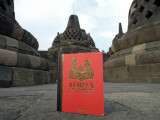 Forty Cartoon Books of Interest visits Borobudur, Java