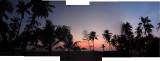 Malabar Ocean Resort sunset (18 March 2014)