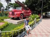 Salanjung Museum fire truck, Hyderabad