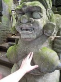 Monkey Forest statue, Bali (2013)