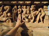Khujaro, India statuary (2014)