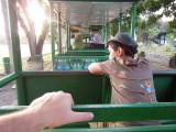 Prambanan trolley