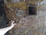 Mount Merapi (a Javanese volcano) bunker door