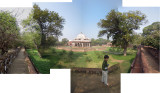 Rahil at Isa Khan Tomb (2 Mar 2014)