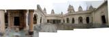 Rahil in Jain Temple in Khajuraho Eastern Complex (1 Feb 2014)