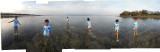 Rahil at Bali low tide (25 Oct 2013)
