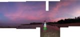 Rahil and Bali sunset (23 Oct 2013)