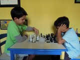 Chess with Vansh (age 6; can beat Dad)