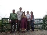 Photo by Rahil of Raju, Dad, Mom, Grandma, and Syd