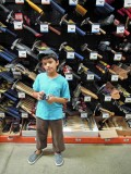 First time in Home Depot