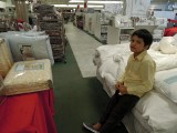 What's more boring than linen shopping?