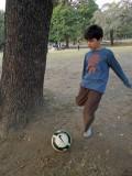 Lodhi Garden football match